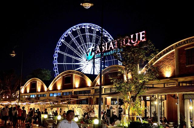 [曼谷]老港口,新生命~!Asiatique The Riverfront 河畔碼頭夜市