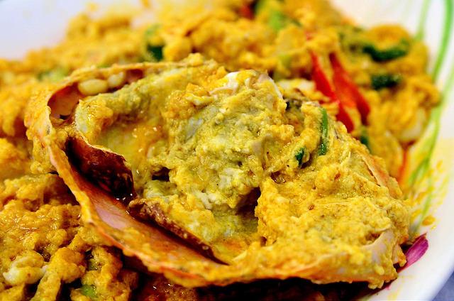 [曼谷]好吃到連手指都會吞下去的咖哩螃蟹!光海鮮海鮮魚翅餐廳