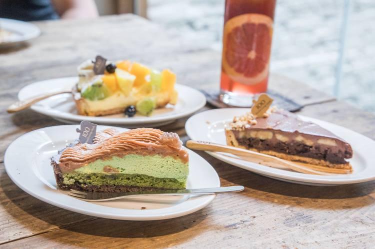 [新竹東區]新竹甜點推薦,來新竹必吃超美味塔派專賣店!一百種味道-三民店