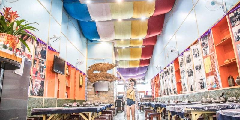 [南投仁愛]清境美食推薦,台灣最高的雲南料理,絕美彩虹天花板超好拍!美斯樂傣味店