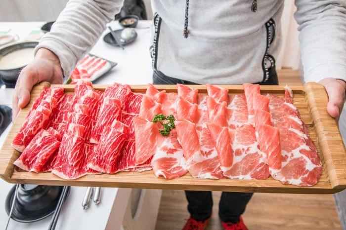 [新北三峽]三峽美食推薦,肉肉控讓你吃好吃滿,霸氣海鮮盆+大肉盤!超有肉涮涮屋-北大店