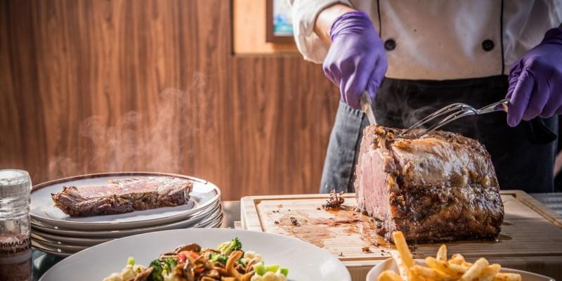 [桃園美食]Mr.Tom 頂級牛排店/吃爆史上最大肋眼牛排!U.S.A進口極佳級prime等級整塊原肉套餐