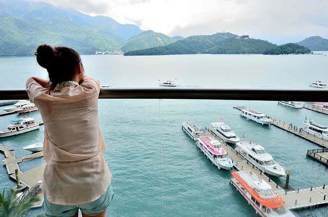 日月潭從早看到晚,這次我有認真看湖景!日月潭大淶閣飯店