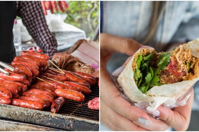 [宜蘭美食]武淵阿公香腸/地點偏到不行,生意好到不行的阿公烤香腸!還有超酷花生捲香腸唷