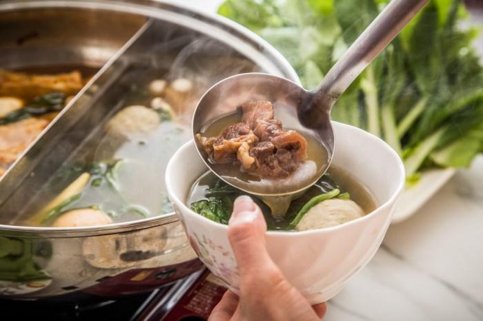 [宅配美食]大魔精燉牛肉鍋/宅配牛肉湯能做到這種等級我也是跪了!極品紅燒、清燉牛肉鍋雙重享受!