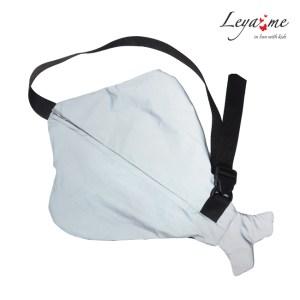 """Детская сумка-рюкзак с одной лямкой """"Скат"""" светоотражающий"""