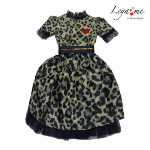 "Платье детское ""Леопард"""