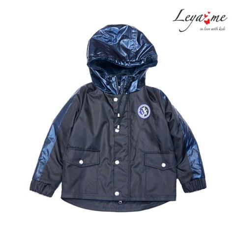 Куртка парка детская черная утепленная на девочку