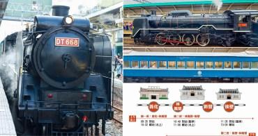 【台南活動】DT668蒸汽火車奔馳台南鐵軌| 慶祝台南火車站120歲|乘火車追雲去| 動力火車現場LIVE演唱|兩天限定活動~~驛藝生輝