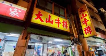 【臺南美食】30年牛排老店|大壺紅茶無限暢飲|附餐餐包果醬隨你沾|大林國宅美食~~大山牛排
