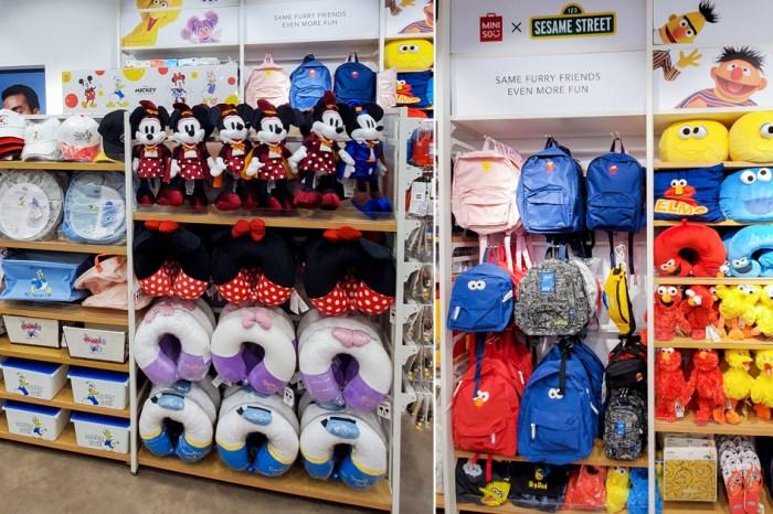 【台南購物】正版迪士尼系列商品 sesame collab正版商品 最便宜100元有找 第二波.第三波讓你買的不要不要的~MINISO名創優品台南Focus店