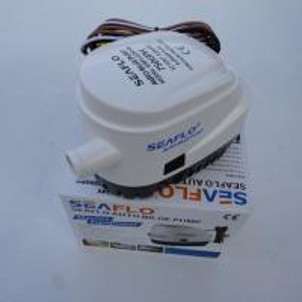 Attwood Sahara Automatic Bilge Pumps Wire Diagram