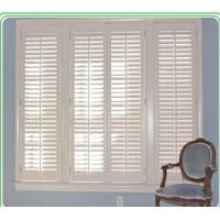 Decorative indoor louvered windows