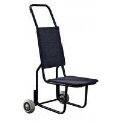 Banquet Chair Trolley Swivel Seat Post Bushing Hotel Equipment Stacking