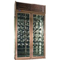 Glass Wine Storage Cabinet , Red Wine Refrigerator with ...