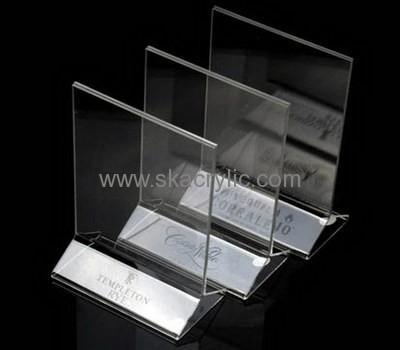 Wholesale acrylic stand up sign holder acrylic sign