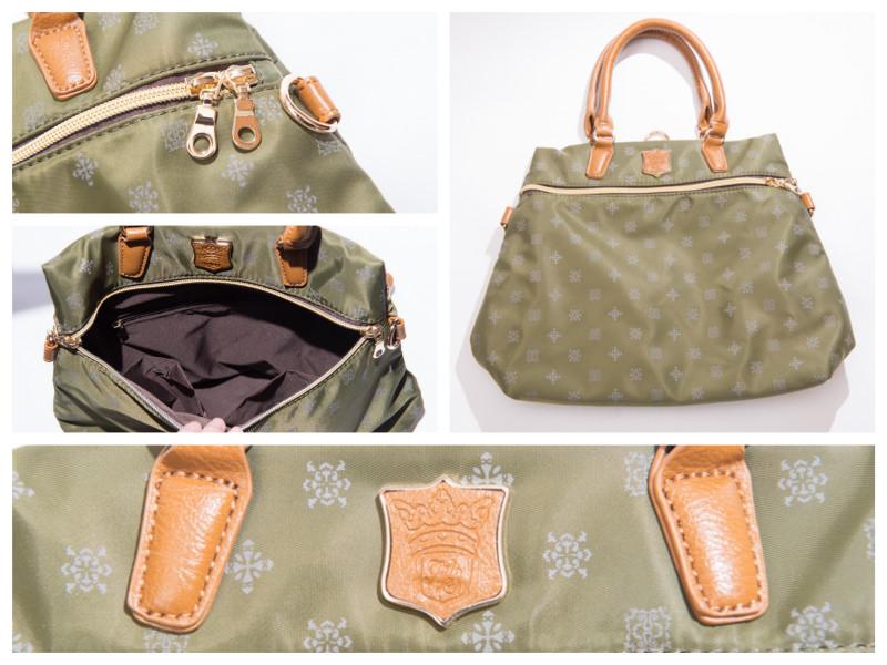 機能包推薦》日本大人氣Macaronic Style 3Way Mini包 – 穿搭輕鬆無負擔