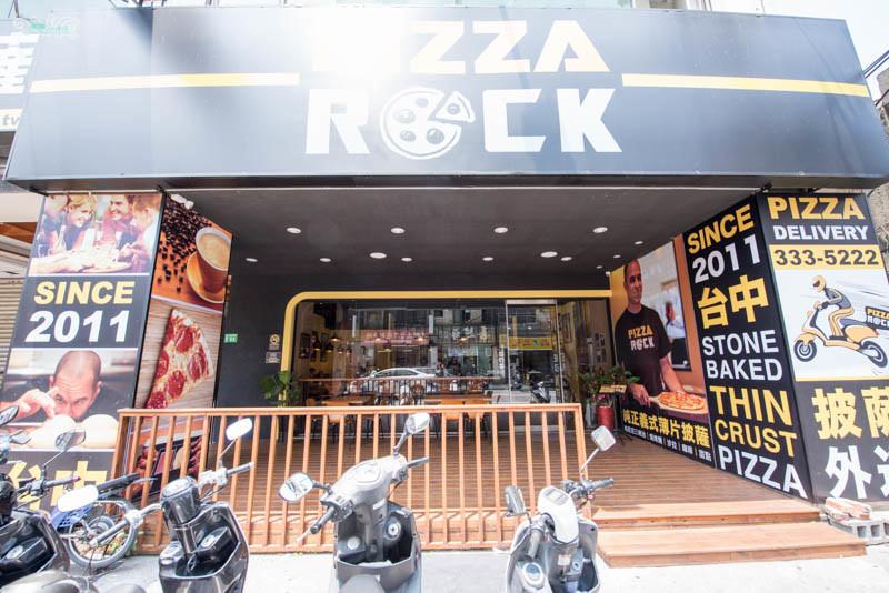 桃園披薩推薦》Pizza Rock – 純正義式薄片披薩