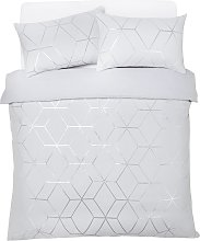 silver bedding sets shop online and