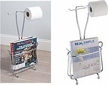 toilet paper holder magazine rack