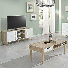 ensemble table basse et meuble tv