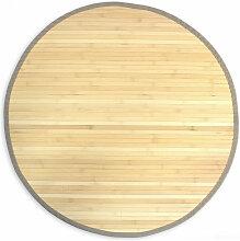 tapis en bambou noir comparer les