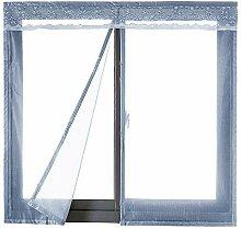 moustiquaire rideau pour porte fenetre