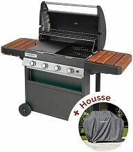 barbecue mixte gaz et charbon