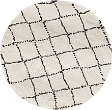 tapis rond blanc comparer les prix et