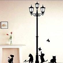 Che si tratti della cucina o del salotto, della. Adesivi Murali Gatti Confronta Prezzi E Offerte Lionshome