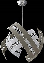 Vetri satinati di colore bianco, forma particolare e ricercata con decori in lega metallica brunita. Lampadario Salone Moderno Confronta Prezzi E Offerte E Risparmia Fino Al 33 Lionshome