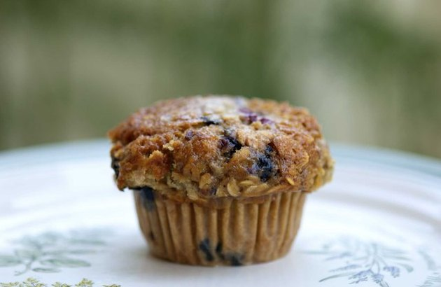Whole-Wheat Blueberry Protein Muffins blueberry breakfast recipes