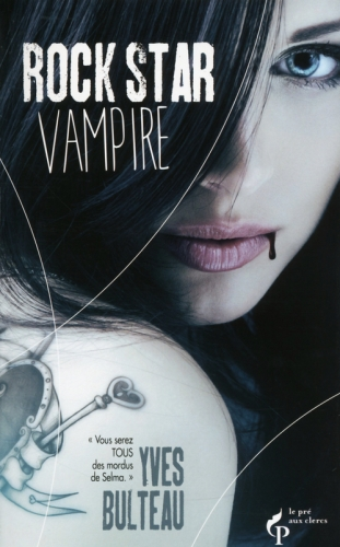 Couverture Rock star vampire