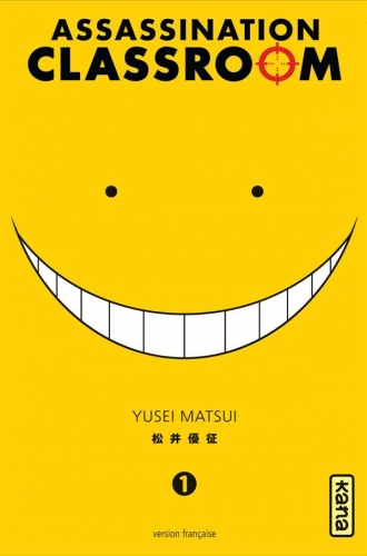 Couverture Assassination classroom, tome 01