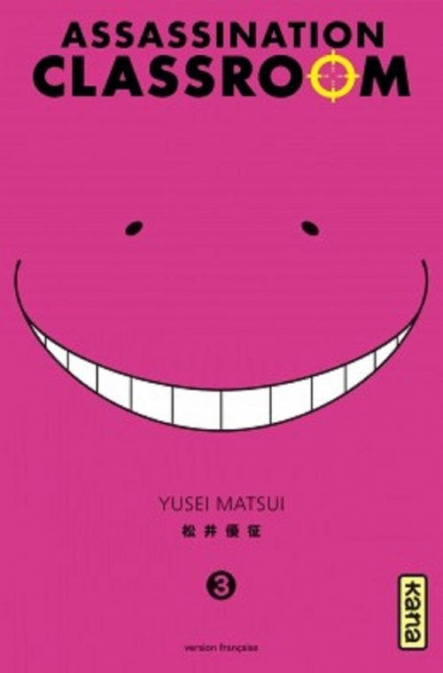 Couverture Assassination classroom, tome 03