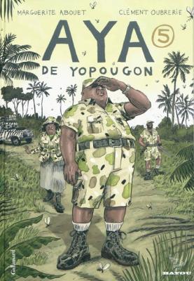 Couverture Aya de Yopougon, tome 5
