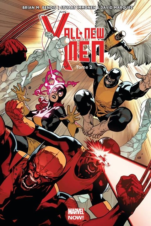 Couverture All NewX-Men (Marvel Now), tome 2 : Choisis ton camps de Brian Michael Bendis, Stuart Immonen et David Lafuente
