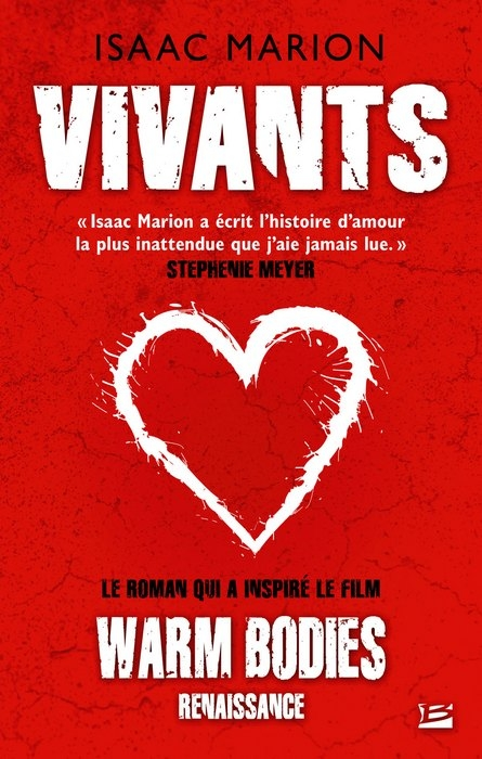 Couverture Vivants / Warm bodies, tome 1