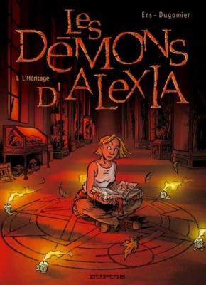 Couverture Les Démons d'Alexia, tome 1 : L'Héritage
