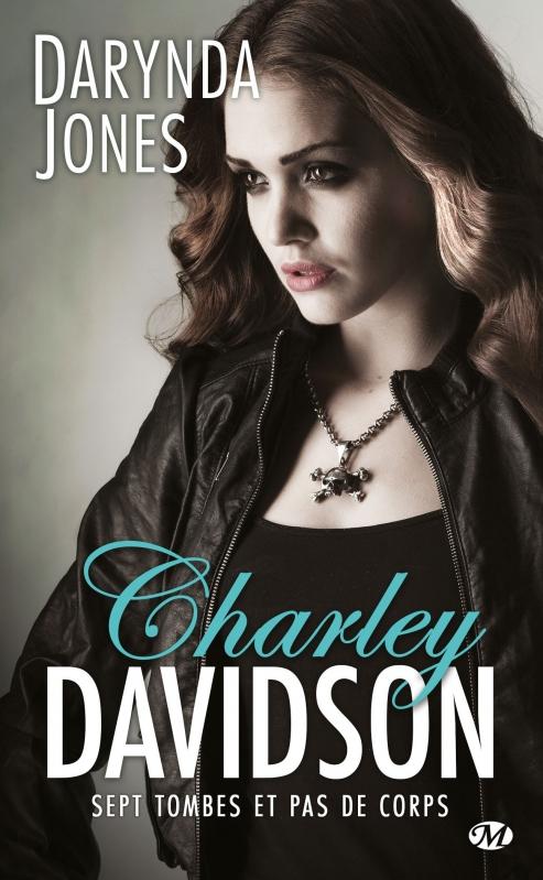 Couverture Charley Davidson, tome 7 : Sept tombes et pas de corps