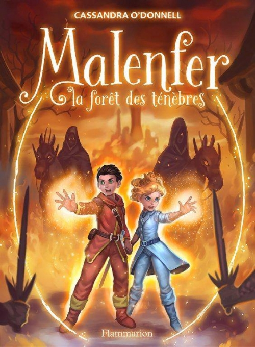Couverture Malenfer, tome 3 : les héritiers