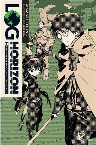 Couverture Log Horizon (roman), tome 1