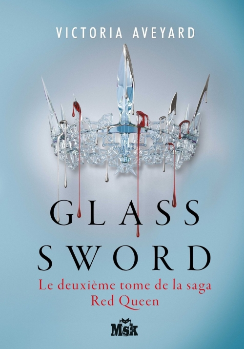 Couverture Red Queen, tome 2 : Glass Sword