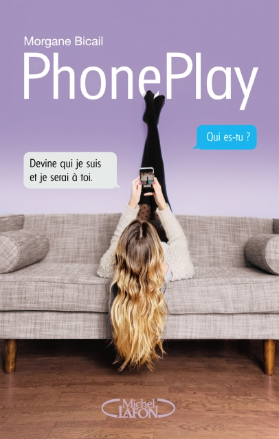 Couverture PhonePlay de Morgane Bicail