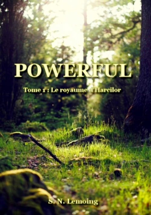 Couverture Powerful, tome 1 : Le royaume d'Harcilor