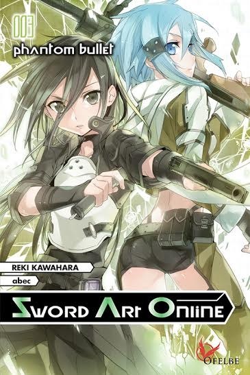 Couverture Sword art online (roman), tome 3 : Phantom Bullet