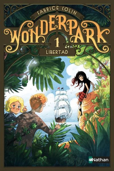 Couverture Wonderpark, tome 1 : Libertad