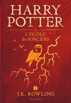 Couverture Harry Potter, tome 1 : Harry Potter à l'école des sorciers