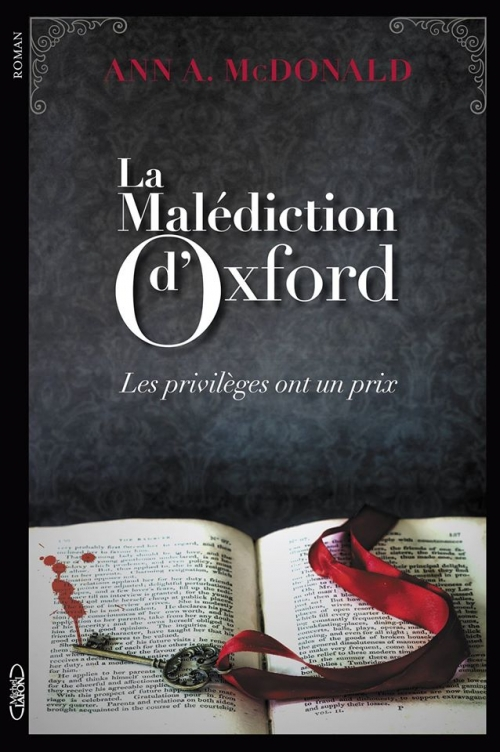 Couverture La Malédiction d'Oxford