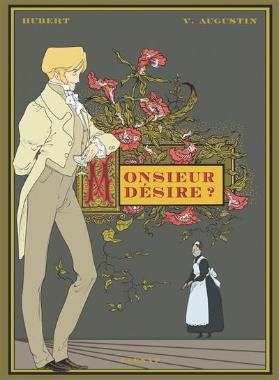 Couverture « Monsieur désire ? » de Hubert et Virginie Augustin